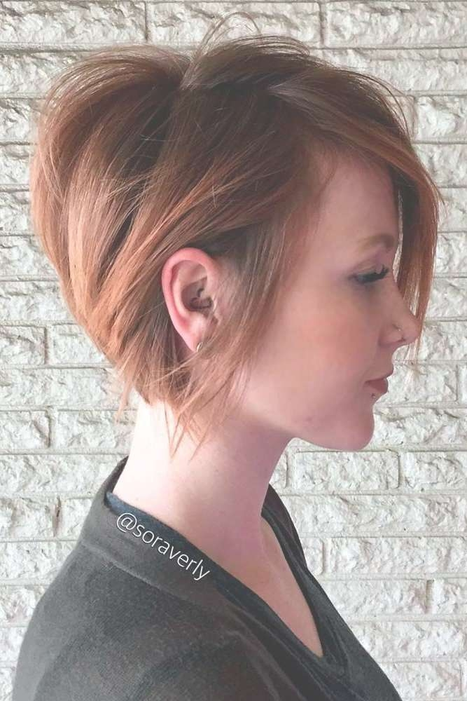 Best 25+ Short Bob Haircuts Ideas On Pinterest | Short Bob For Most Recently Medium Hairstyles Cut Around The Ears (View 11 of 15)