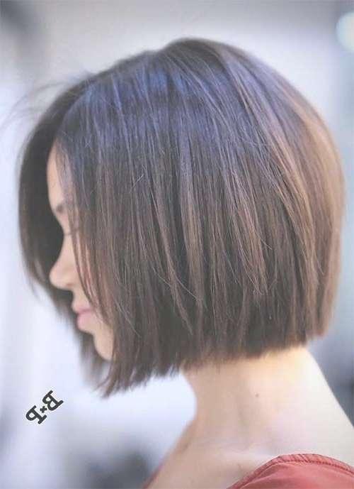 Best 25+ Short Bob Hairstyles Ideas On Pinterest | Short Bob Within Bob Hairstyles For Short Hair (View 16 of 25)