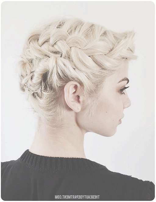 Best 25+ Short Bob Updo Ideas On Pinterest   Bob Updo Hairstyles With Regard To Bob Hair Updo (View 11 of 25)