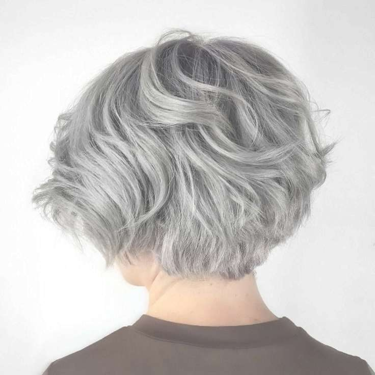 Best 25+ Short Gray Hair Ideas On Pinterest | Grey Pixie Hair With Regard To Newest Medium Haircuts For Women With Grey Hair (View 16 of 25)