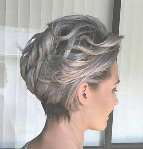Best 25+ Short Gray Hairstyles Ideas On Pinterest | Short Gray In Most Up To Date Medium Haircuts For Gray Hair (View 17 of 25)