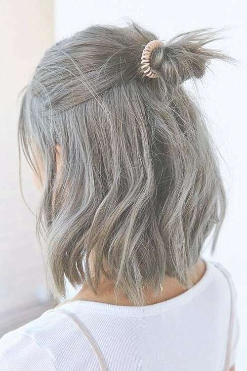 Best 25+ Short Grey Haircuts Ideas On Pinterest | Where Does Grey For 2018 Medium Haircuts For Grey Hair (View 12 of 25)