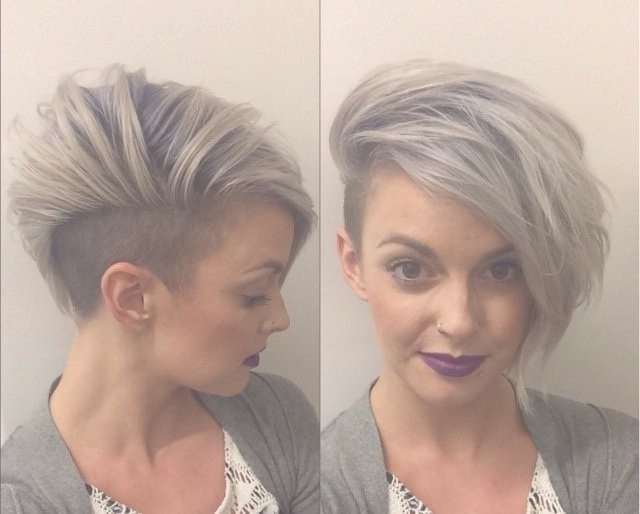 Best 25+ Short Hair Shaved Sides Ideas On Pinterest | Shaved Sides Inside Current Medium Haircuts With One Side Shaved (View 19 of 25)