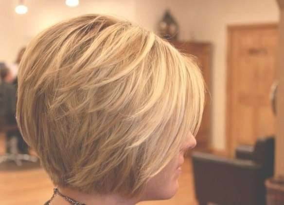 Best 25+ Short Layered Bob Haircuts Ideas On Pinterest | Layered Throughout Short Layered Bob Hairstyles (View 5 of 25)