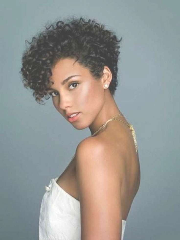 Best 25+ Short Natural Curly Hair Ideas On Pinterest   Short Curly In Current Medium Haircuts For Naturally Curly Black Hair (View 20 of 25)