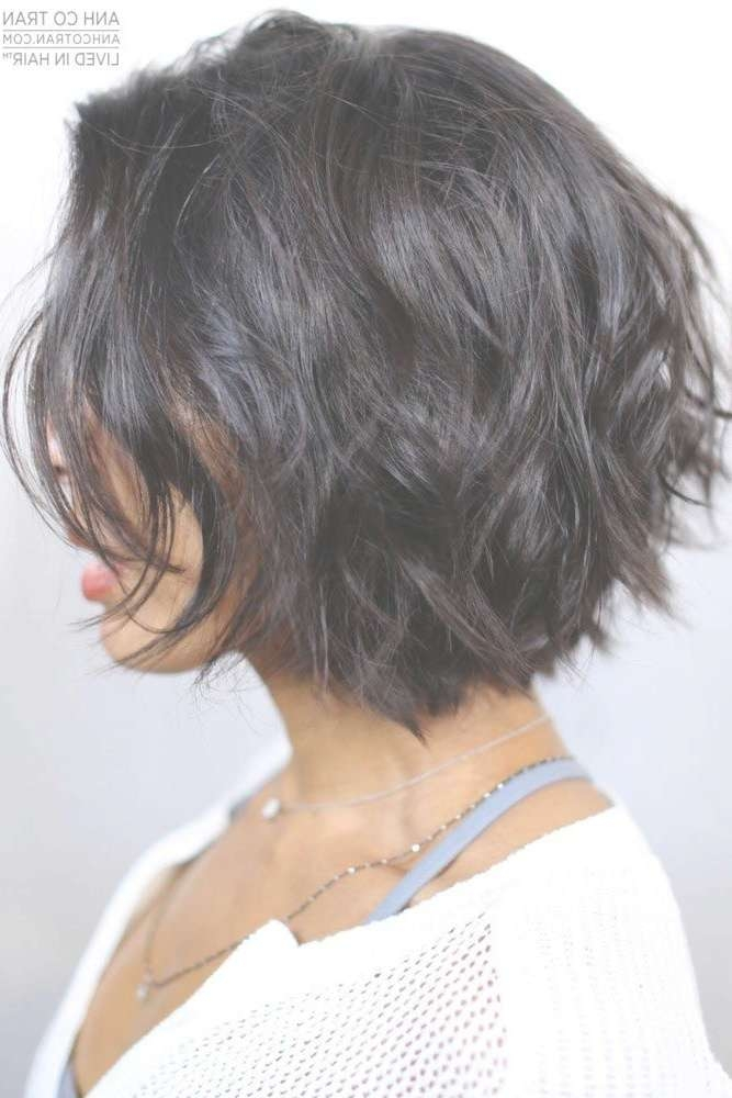 Best 25+ Short Textured Haircuts Ideas On Pinterest | Edgy Bob In Newest Medium Haircuts For Petite Women (View 17 of 25)
