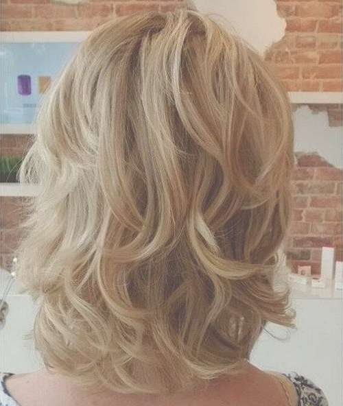 Best 25+ Shoulder Length Layered Hairstyles Ideas On Pinterest In Most Popular Medium Haircuts Layered Styles (View 17 of 25)