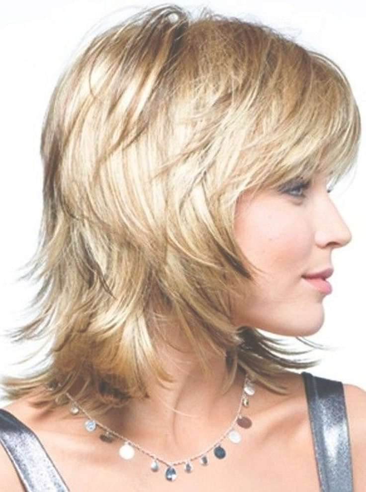 Best 25+ Shoulder Length Layered Hairstyles Ideas On Pinterest Pertaining To Most Current Medium Medium Hairstyles With Layers (View 16 of 25)
