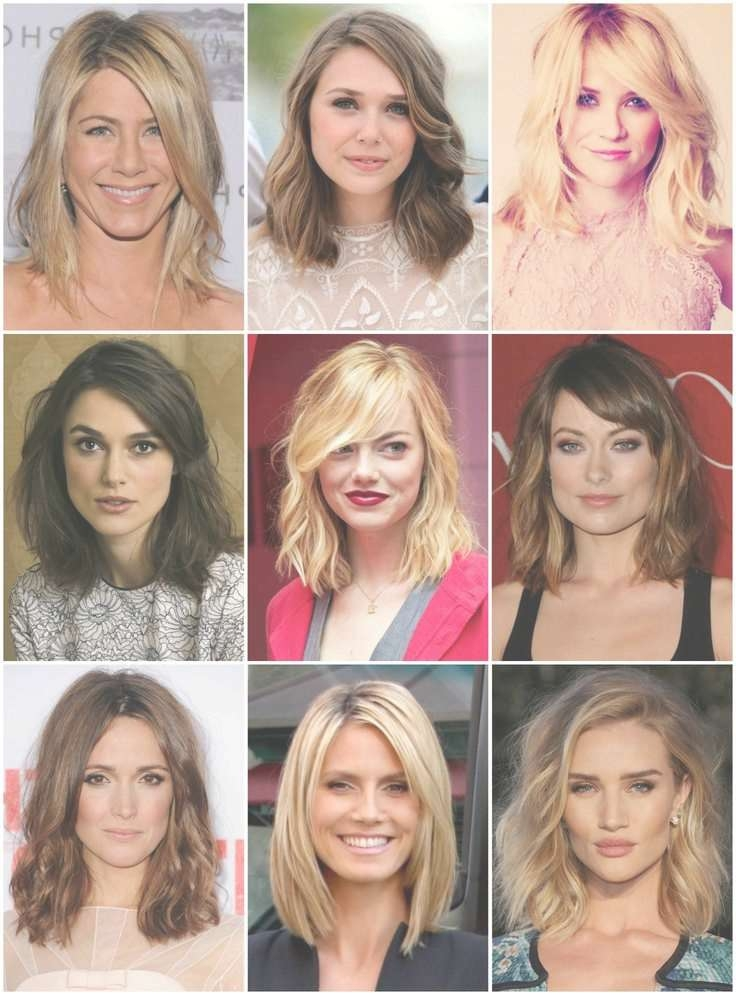 View Photos Of Medium Haircuts For A Square Face Shape Showing 4 Of
