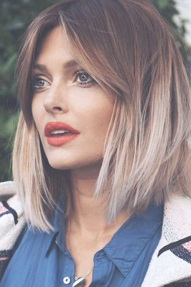 Best 25+ Square Face Hairstyles Ideas On Pinterest   Haircut For With 2018 Medium Haircuts For A Square Face Shape (View 16 of 25)
