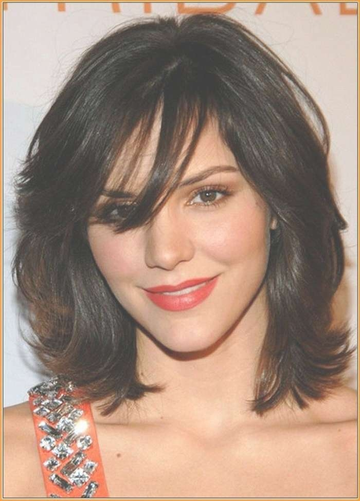 Best 25+ Thick Coarse Hair Ideas On Pinterest | Short Thick Intended For Most Recent Medium Haircuts For Thick Hair With Bangs (View 3 of 25)