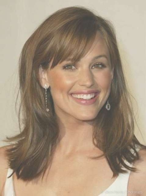 Best 25+ Thick Hair Bangs Ideas On Pinterest | Bangs Medium Hair Pertaining To Most Up To Date Medium Haircuts For Thick Hair With Bangs (View 7 of 25)