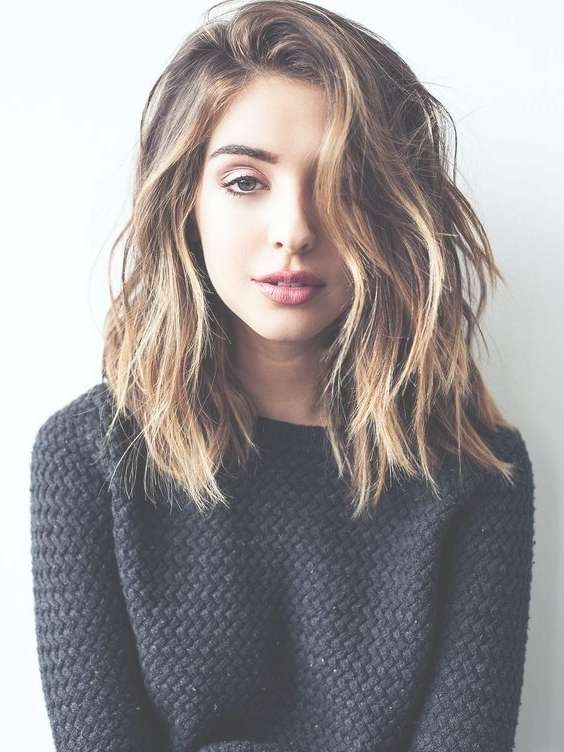 Best 25+ Thick Hair Haircuts Ideas On Pinterest | Lob Haircut For Recent Medium Hairstyles For Very Thick Hair (View 2 of 16)