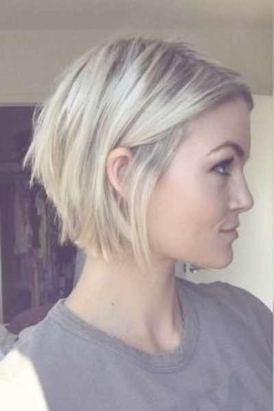Best 25+ Thin Hair Bobs Ideas On Pinterest | Thin Hair Bob Haircut With Regard To Bob Hairstyles For Fine Hair (View 24 of 25)