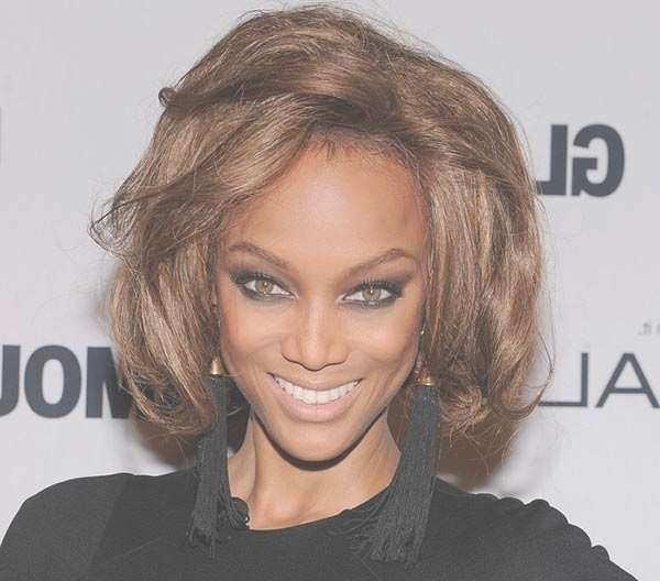 Best 25+ Tyra Banks 2017 Ideas On Pinterest | Tyra Banks, Tara Pertaining To Latest Tyra Banks Medium Hairstyles (View 4 of 15)