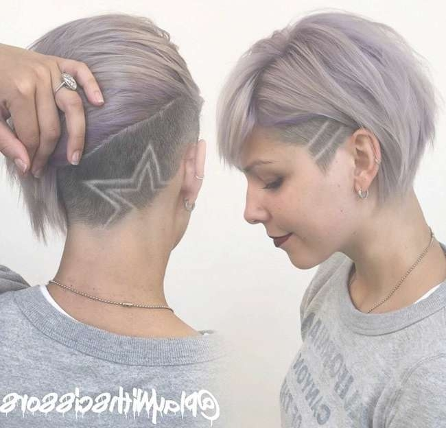 Best 25+ Undercut Hairstyles Women Ideas On Pinterest | Undercut Pertaining To Current Undercut Medium Hairstyles For Women (View 14 of 25)