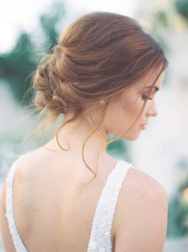 Best 25+ Updos For Thin Hair Ideas On Pinterest | Thin Hair Updo Within Newest Elegant Medium Hairstyles For Weddings (View 17 of 25)