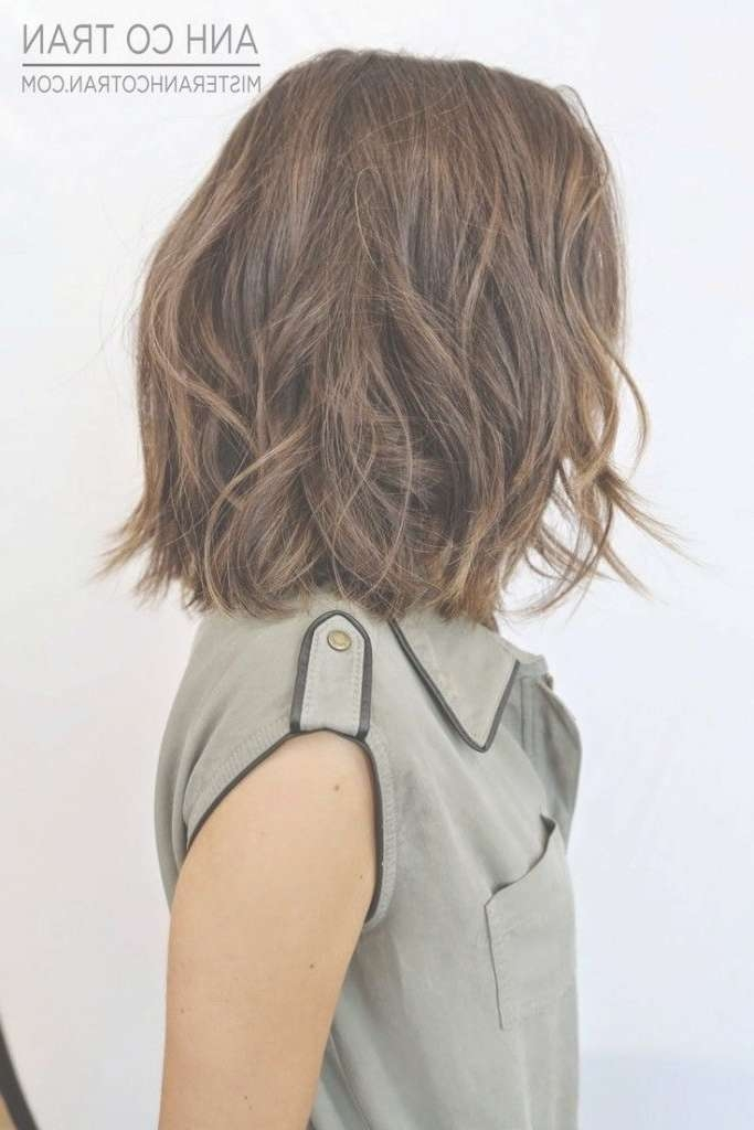 Best 25+ Wavy Bob Haircuts Ideas On Pinterest | Wavy Bob Hair Intended For Wavy Bob Hairstyles (View 23 of 25)