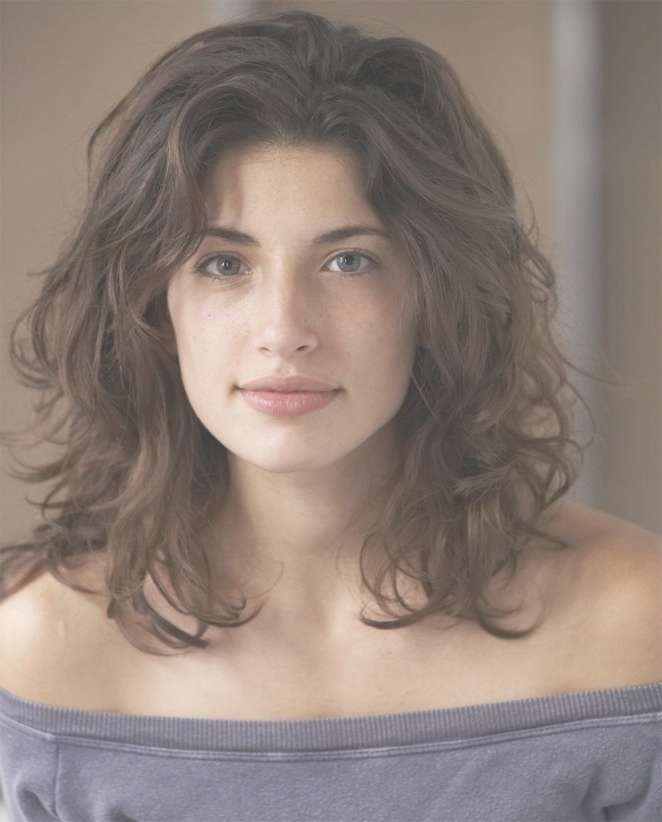 Best 25+ Wavy Haircuts Ideas On Pinterest | Medium Hair Cuts Wavy Throughout Most Current Curly Hair Medium Hairstyles (View 3 of 25)