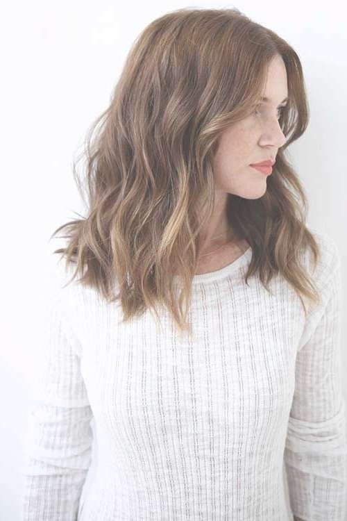 Best 25+ Wavy Haircuts Ideas On Pinterest | Medium Hair Cuts Wavy Within Latest Medium Haircuts For Wavy Frizzy Hair (View 20 of 25)