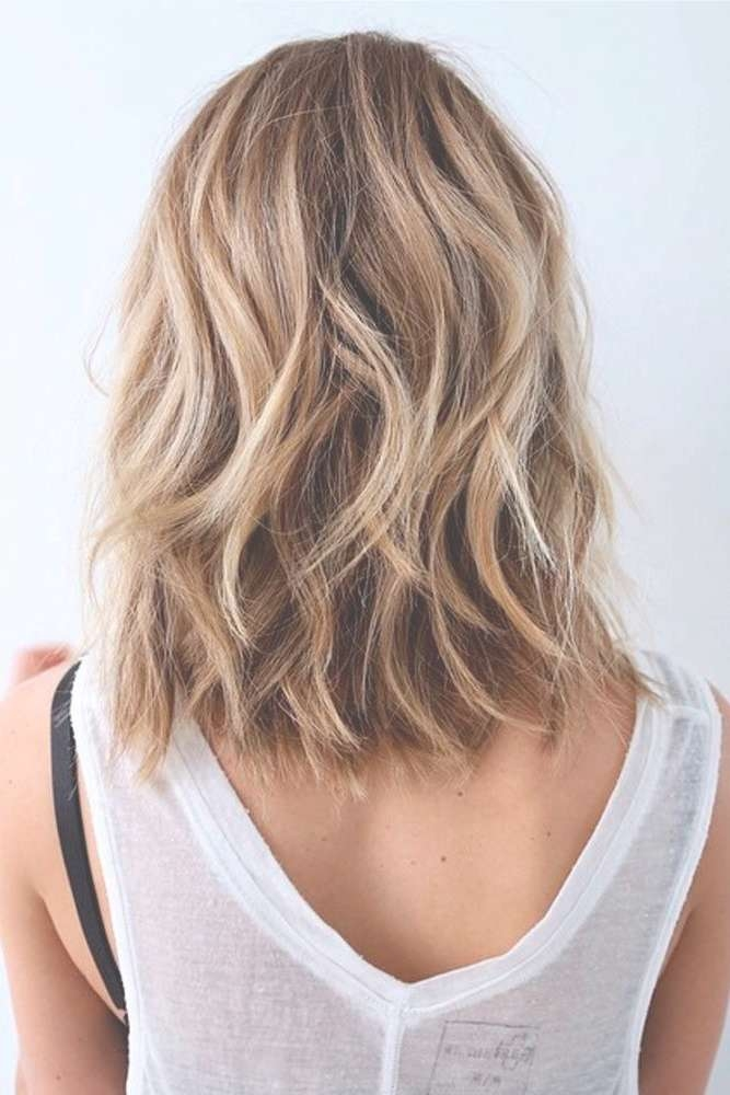 Best 25+ Wavy Medium Hairstyles Ideas On Pinterest | Medium Wavy Throughout Newest Medium Haircuts For Wavy Hair (View 9 of 25)