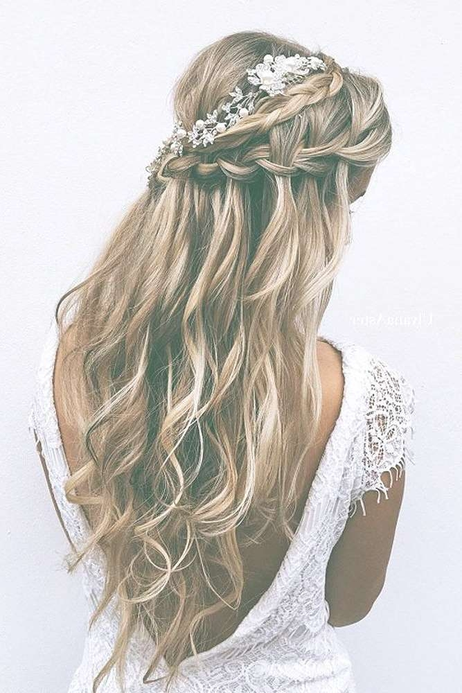 Best 25+ Wedding Hairstyles Long Hair Ideas On Pinterest | Prom Throughout Most Up To Date Long Hairstyle For Wedding (View 14 of 25)