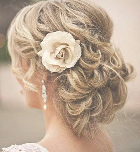 Best 25+ Wedding Updos For Shoulder Length Hair Ideas On Pinterest With Most Recent Medium Hairstyles For Weddings For Bridesmaids (View 10 of 15)