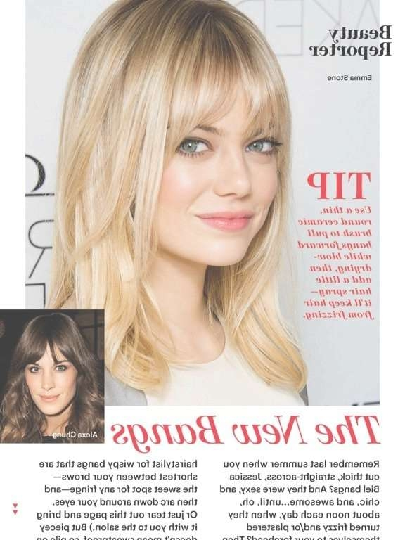 Best 25+ Wispy Bangs Ideas On Pinterest | Wispy Fringe Bangs For Most Recent Medium Haircuts With Wispy Bangs (View 8 of 25)