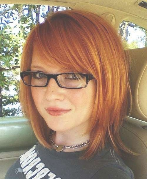 Best 25+ Women With Glasses Ideas On Pinterest | Hair Styles For With Recent Medium Haircuts For Women Who Wear Glasses (View 23 of 25)