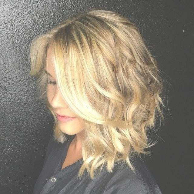 Best Beach Wave Bob Hairstyles Inspiration Hair Ideas For 2018 Medium Hairstyles Beach Waves (View 8 of 25)