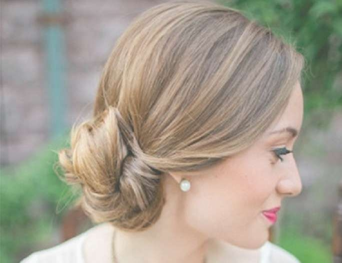 Best Blonde Medium Hairstyles – She'said' With Regard To Most Popular Medium Hairstyles For Special Occasions (View 4 of 25)