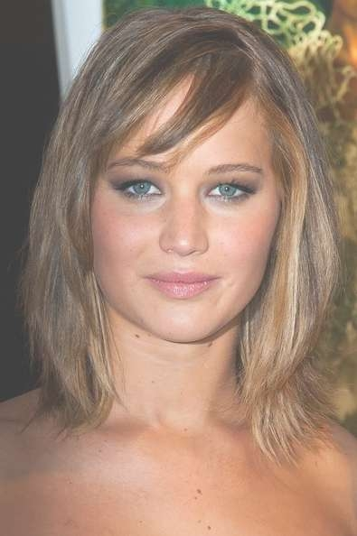 Best Celebrity Hairstyles For Pear Shaped Face | Cinefog Inside Best And Newest Medium Hairstyles For Pear Shaped Faces (View 7 of 15)