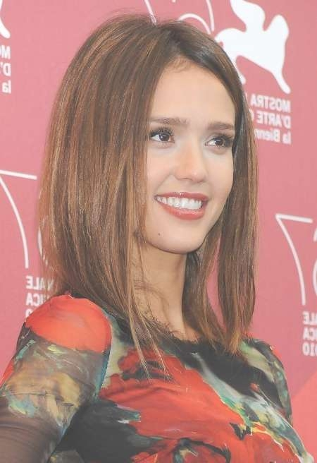 Best Celebrity Medium Haircut Ideas | Haircuts, Hairstyles 2017 With Regard To Most Popular Jessica Alba Medium Haircuts (View 23 of 25)