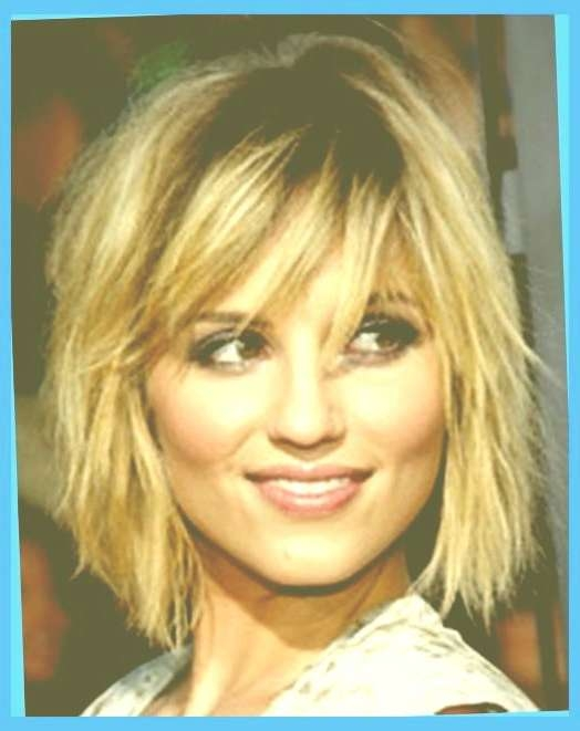Best Edgy Haircuts For Round Faces Edgy Medium Length Haircuts With Regard To Recent Edgy Medium Hairstyles For Round Faces (View 12 of 15)