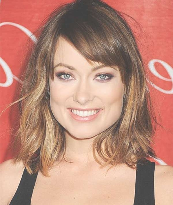 Best Hairstyles For Square Faces – Glamy Hair Intended For Newest Medium Hairstyles For Square Face (View 2 of 25)
