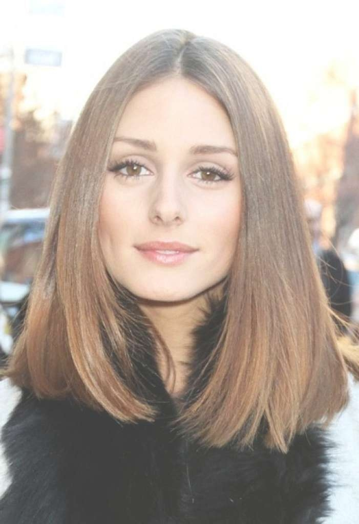 Best Long Bob Hairstyles For Straight Thick Hair And Oval Face Inside Current Medium Hairstyles For Straight Thick Hair (View 5 of 15)