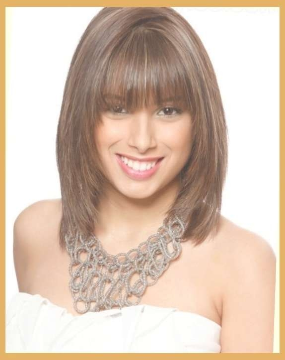 Displaying Gallery Of Medium Hairstyles For Women In Their 20s View