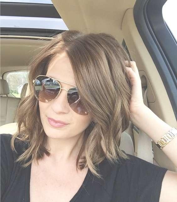 Best Medium Hairstyles For Fine Hair 2016 – Digihairstyles Inside Most Recent Medium Hairstyles For Thin Hair (View 15 of 25)