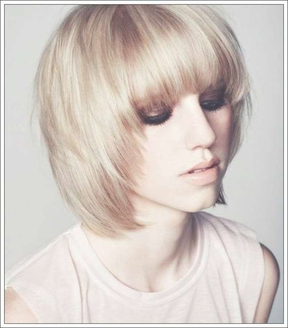 Best Medium Hairstyles For Fine Hair 2016 – Digihairstyles With Regard To Most Up To Date Medium Hairstyles For Fine Hair With Bangs (View 24 of 25)