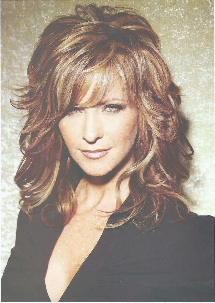 View Photos Of Medium Hairstyles And Highlights Showing 5 Of 15 Photos