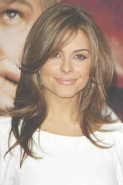 Best Medium Length Hairstyles With Highlights With Regard To Most Up To Date Medium Hairstyles And Highlights (View 4 of 15)