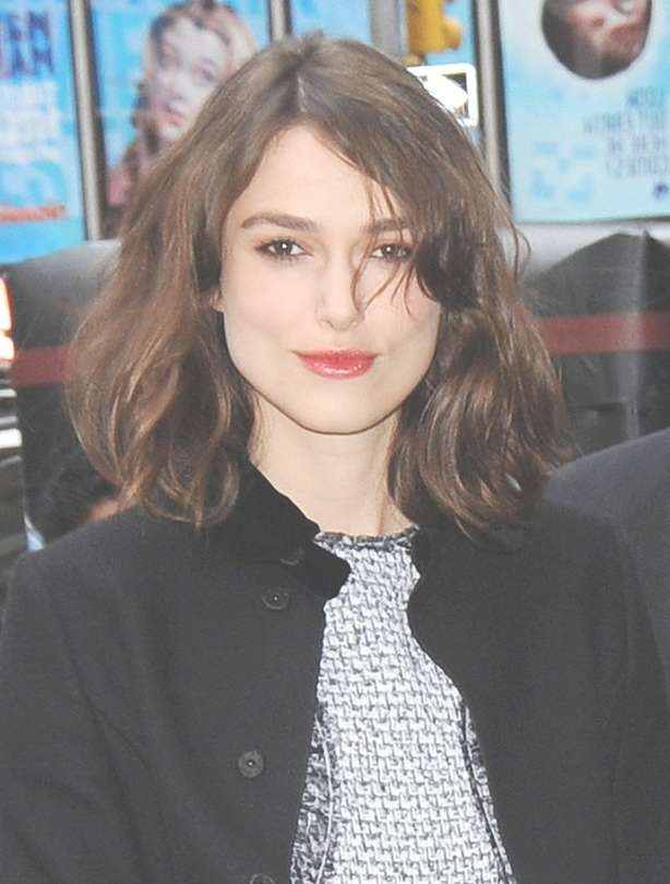 Best Mid Length Hairstyles – Keira Knightley – Goodtoknow In Most Popular Keira Knightley Medium Hairstyles (View 15 of 15)