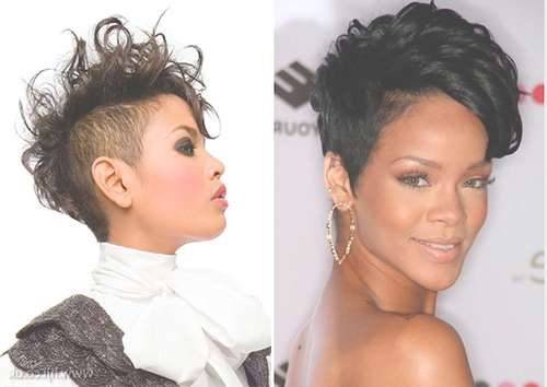 Best Mohawk Hairstyles For Black Women | Medium Hair Styles Ideas Intended For Best And Newest Mohawk Medium Hairstyles For Black Women (View 6 of 15)
