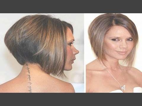 Best Short Bob Hairstyles For Women 2016 – Short Haircuts – Youtube Regarding Short Bob Haircuts For Women (View 15 of 25)