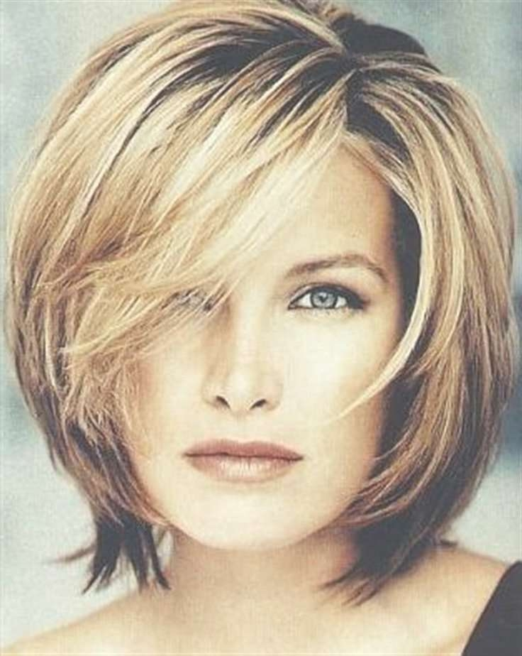 Best Short Hairstyles For Women Over 40 – Women Hairstyles With Most Recently Medium Hairstyles For Thick Hair Over  (View 6 of 15)