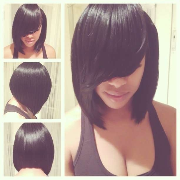 Black Bob Hairstyles Pinterest – Hairstyle Fo? Women & Man With Regard To Black Bob Haircuts (View 19 of 25)
