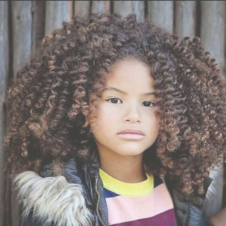 Black Little Girl's Hairstyles For 2017  2018 | 71 Cool Haircut Within Best And Newest Medium Haircuts For Black Teens (View 11 of 15)