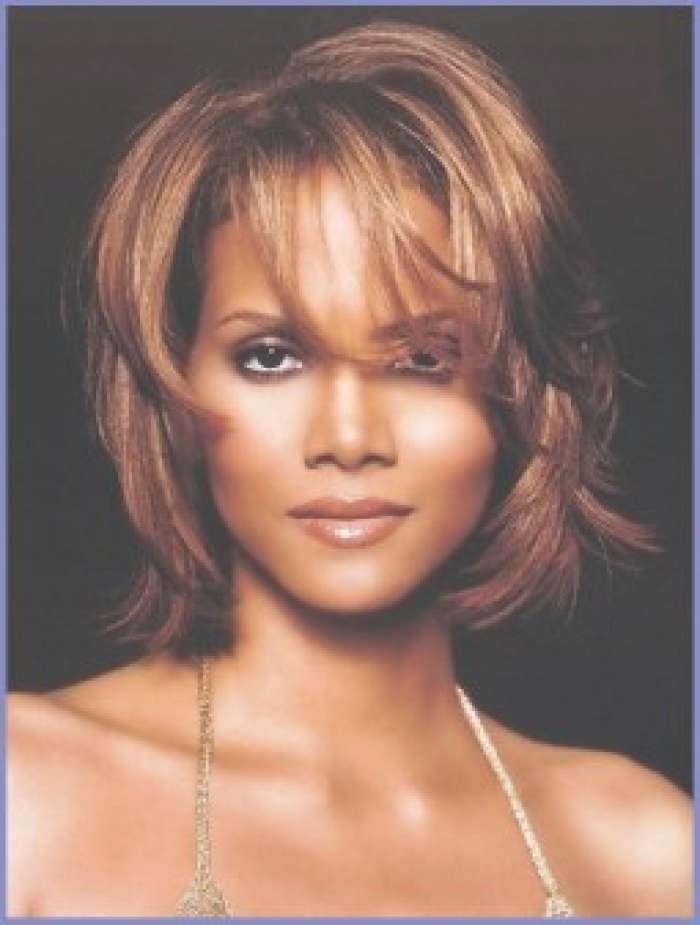 Black Medium Hairstyles 2013 | Black Hair Black Styles Pertaining To Newest Black Woman Medium Haircuts (View 22 of 25)