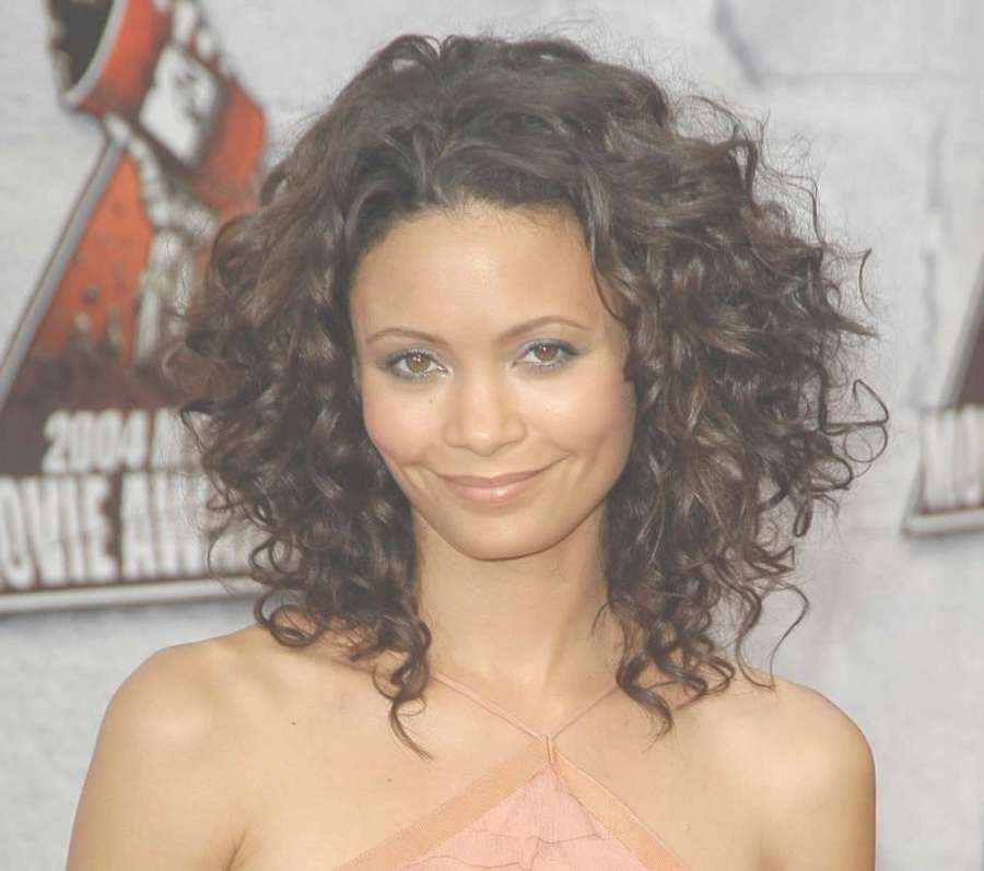 Black Medium Length Hairstyles Are The Favorite Style Of Asian Inside Most Current Medium Haircuts For Curly Black Hair (View 15 of 25)