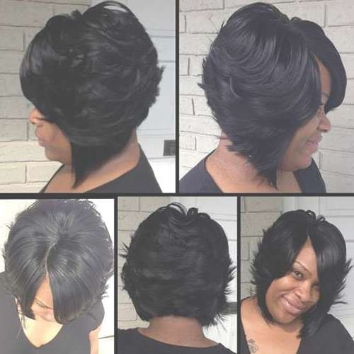 Black Women Bob Haircuts 2015 2016   Bob Hairstyles 2017 – Short With Black Bob Haircuts (View 11 of 25)